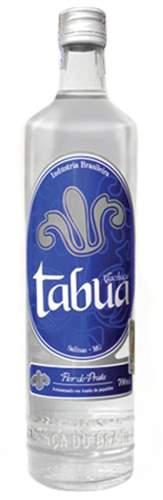 Cachaça Tabúa Prata 670 ml