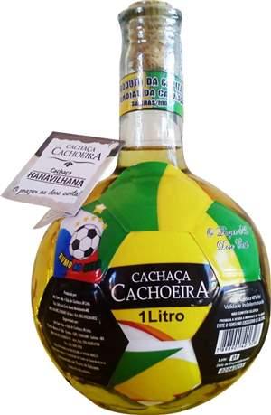 Cachaça Cachoeira Copa especial 1000 ml